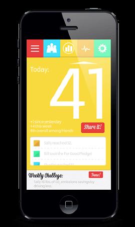 Mobile App Mock - Cell