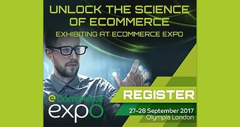 eCommerce expo London poster